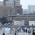 Photos: 2月28日夕方、大さん橋からの風景-キングの塔