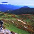 乳頭山からの岩手山