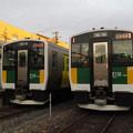 新型車両に置き換えられたJR久留里線