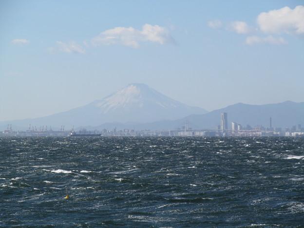 横浜と富士山