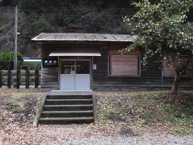 坪尻駅駅舎