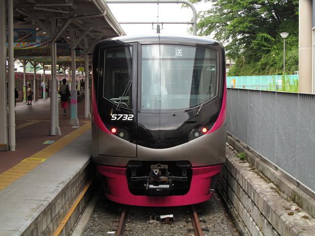 Photos: 動物園線に入線した京王新5000系