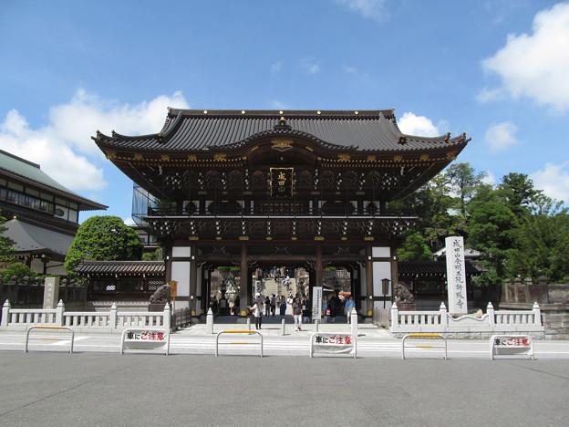 成田山 総門