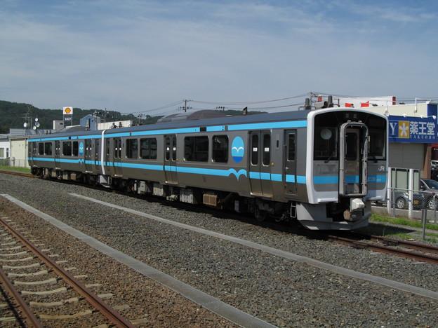新型車両に置き換えられたJR八戸線