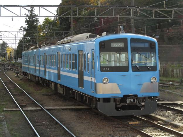 近江鉄道で余生を送る西武新101系電車