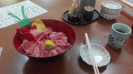 中トロ丼@ひとみ食堂
