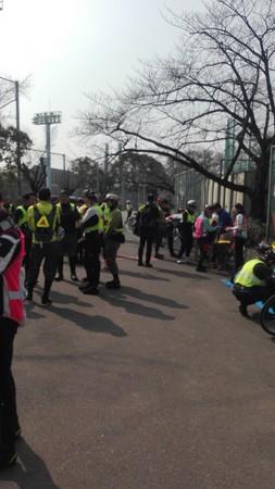スタート地点@熱田神宮公園