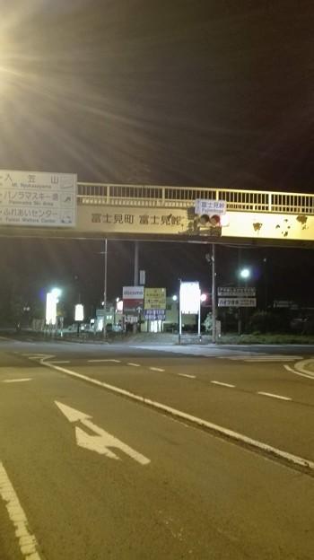 夜の富士見峠