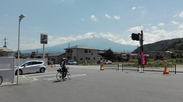 富士吉田の富士山