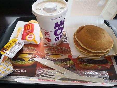 朝マック パンケーキ