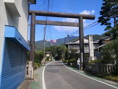 大山阿夫利神社 参道三の大鳥居