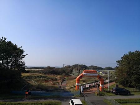 シクロクロス会場 幕張海浜公園