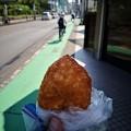 Photos: 逆走自転車にカレーパン