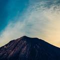 写真: 富士の頂上