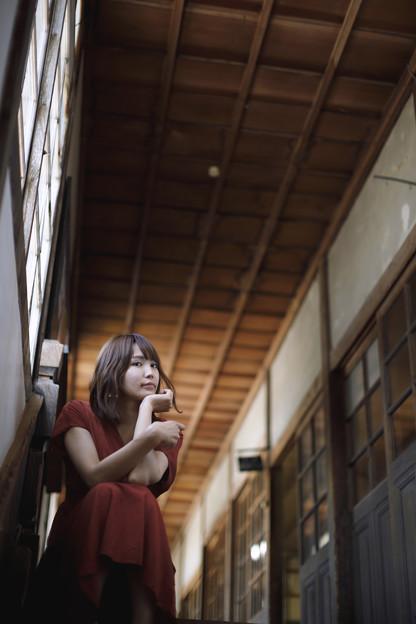 Photos: 木造校舎