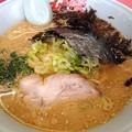 Photos: 山岡家『味噌ラーメン(黒ばら海苔)』