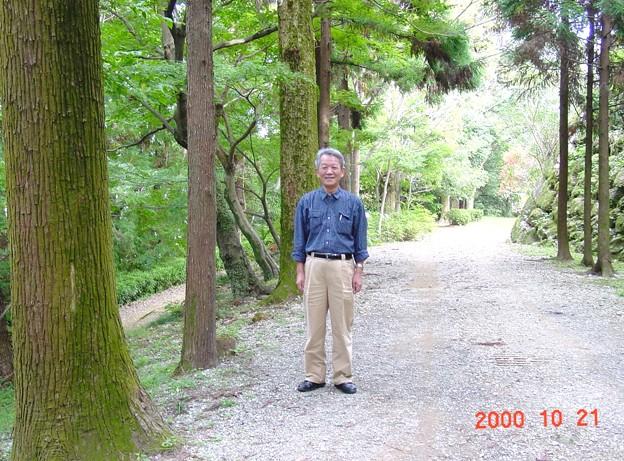 39-高知 高知市 高知城 すべり山にて-20001021-008