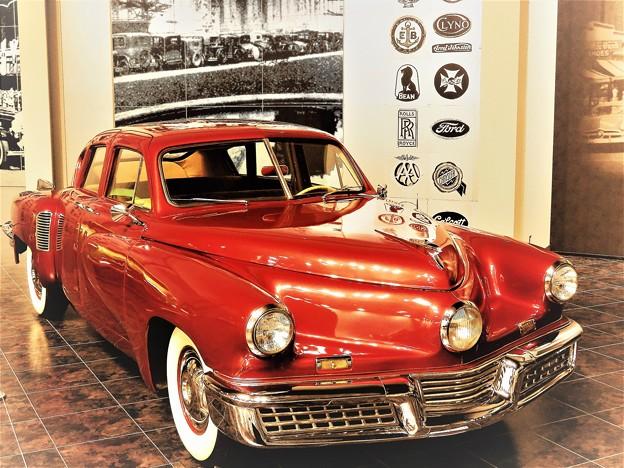 写真: アメリカの車はボリュームたっぷり