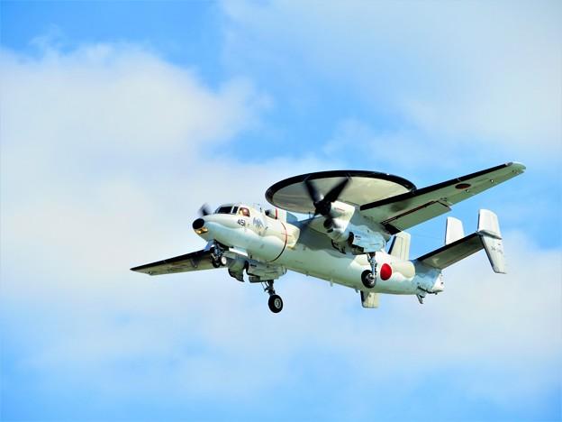 今日見た沖縄の秋空 早期警戒機