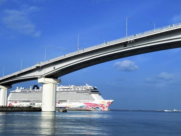 Photos: 橋と客船