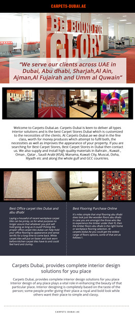 Carpet Suppliers in Abu Dhabi
