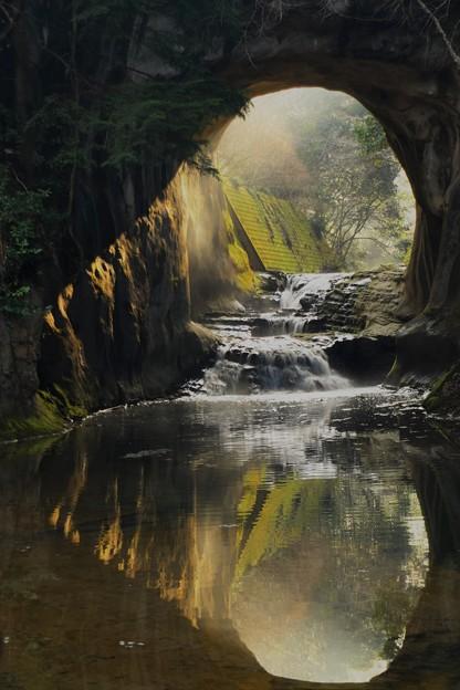 亀岩の洞窟 (4)