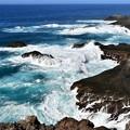 Photos: 紺碧の海へ