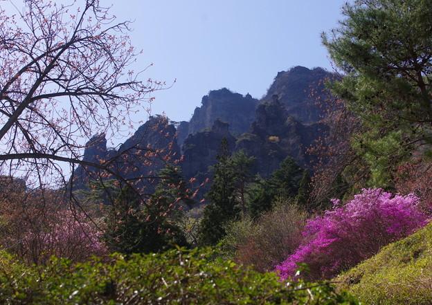 写真: 妙義山