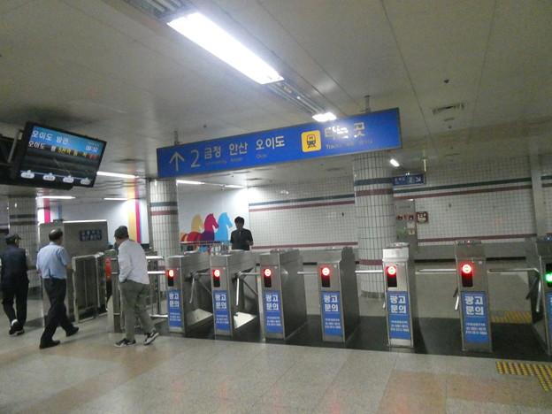 韓国競馬公園駅2