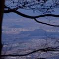 金剛山から大和三山