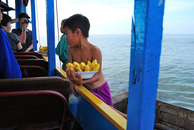 12カンボジア-3バナナ買ってよ