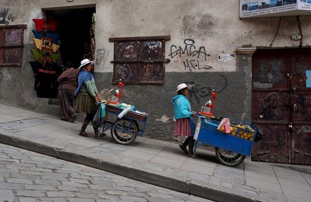 53ペルー -2Tough commute (通勤は大変です。。。)