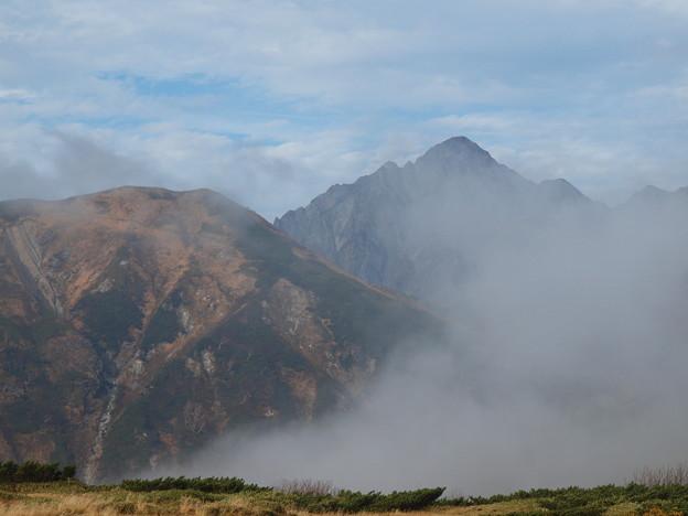 剣岳の遠望