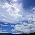写真: 眩し過ぎる雲