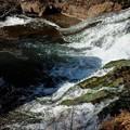 竜頭の滝へ