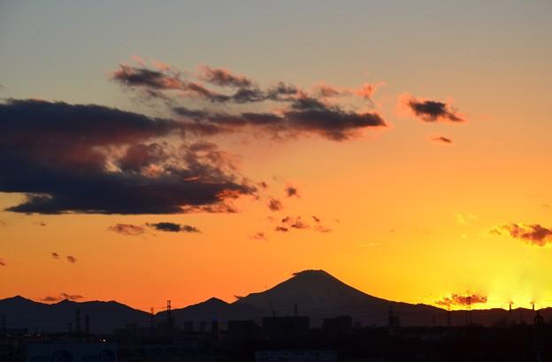 Photos: 遠望の富士ーB