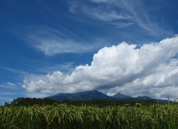 八ヶ岳と雲