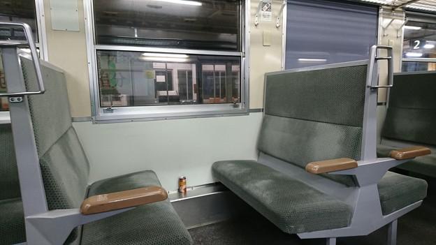 男鹿線キハ40(ワンマン対応)車内