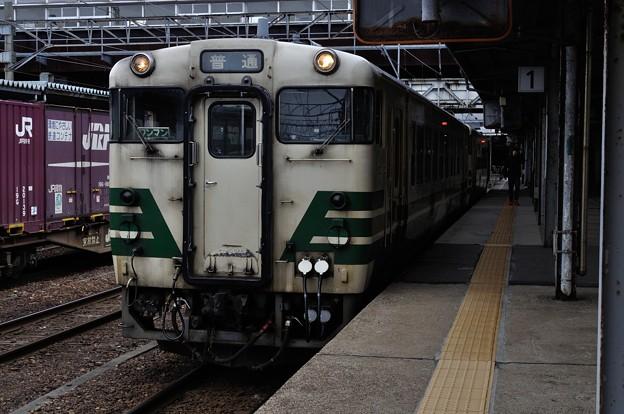 男鹿線キハ40乗車の旅 04