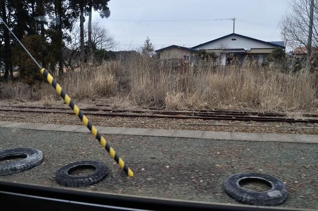 男鹿線キハ40乗車の旅 14