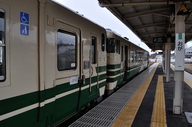 男鹿線キハ40乗車の旅 20