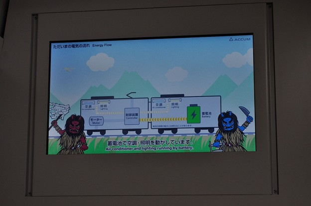 男鹿線EV-E801系乗車の旅 32
