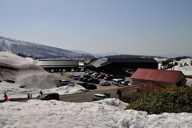 栗駒山・須川温泉 2018-04-29_1