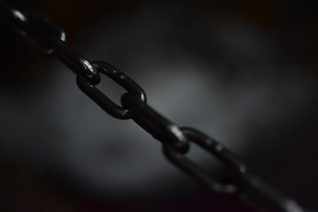 写真: 鎖
