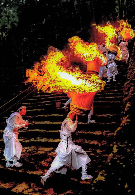 那智の滝扇祭り-1