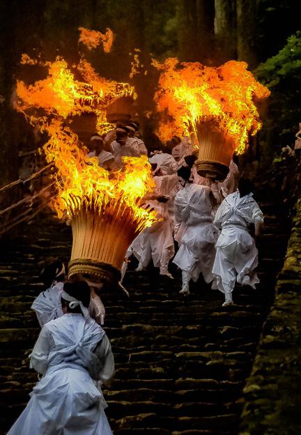 那智の滝扇祭り-2