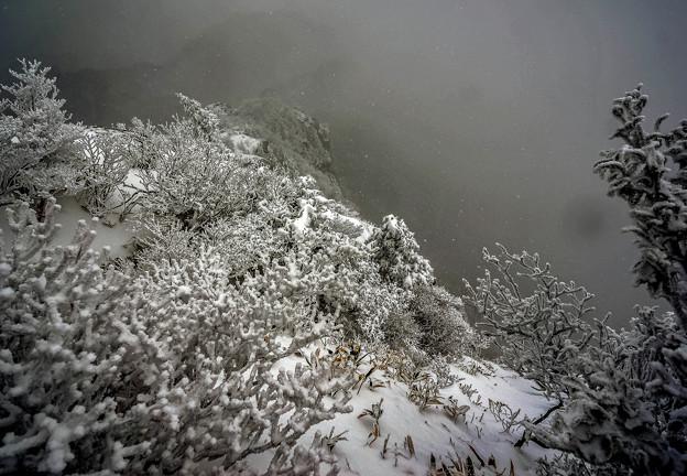 厳冬の御在所-1
