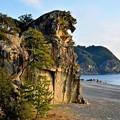 Photos: 獅子岩の有る熊野の砂丘