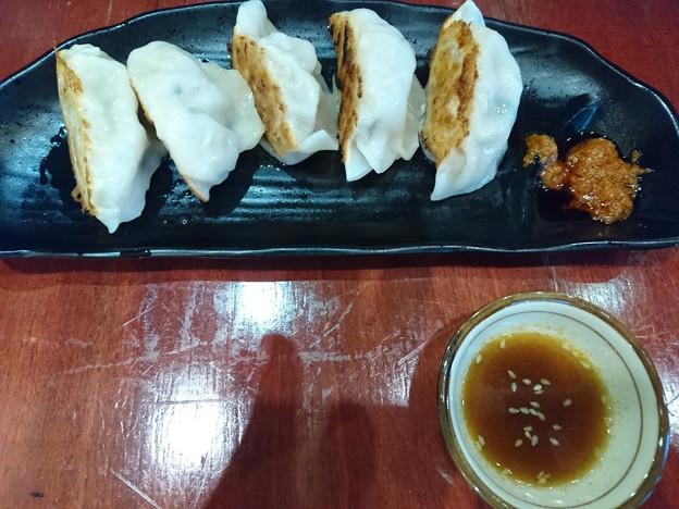 焼き餃子と麻婆豆腐