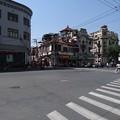 写真: 上海の路地